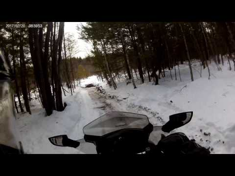 Otisfield Maine Local Snowmobile Trails to ITS 89