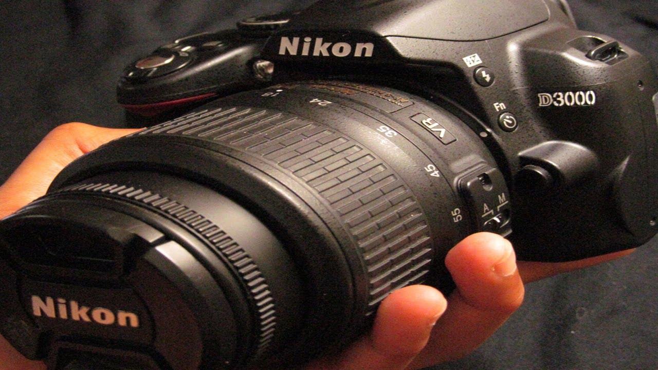 Nikon d3000 dslr camera review and test youtube baditri Images