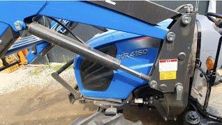 엘에스트랙터 XR4160 / 클러치반자동.브레이크 밟으면 전,후진변속가능! 배선작업!