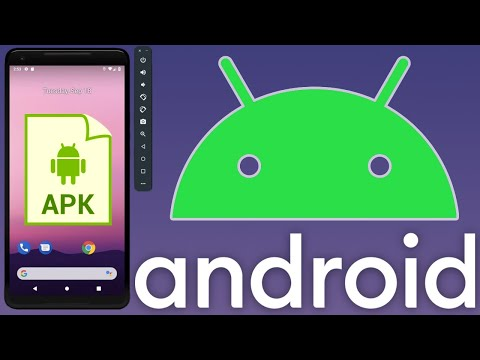 Easiest Way To Install An APK On An Android Virtual Device (Emulator)