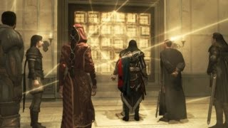 Codex Pages Deciphered: Ezio, Mario, Paola, Machiavelli Gather at Villa