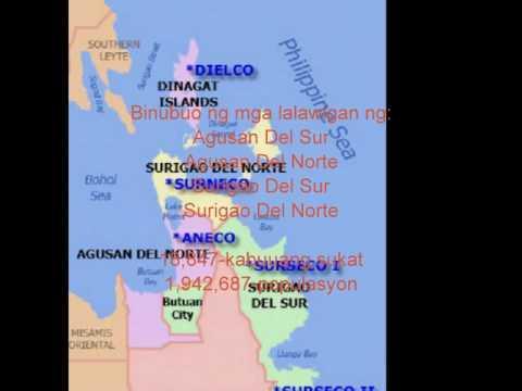 region XIII caraga PANITIKAN NG PILIPINAS