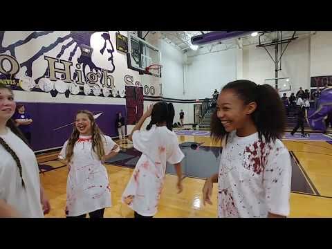 Alvarado High School Pep Rally Halloween Theme 10-24-2019