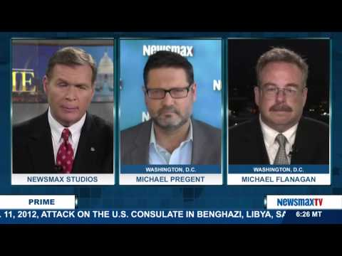 Newsmax Prime | Michael Pregent and Michael Flanagan on the Iraq veterans against the Iran Nuke deal
