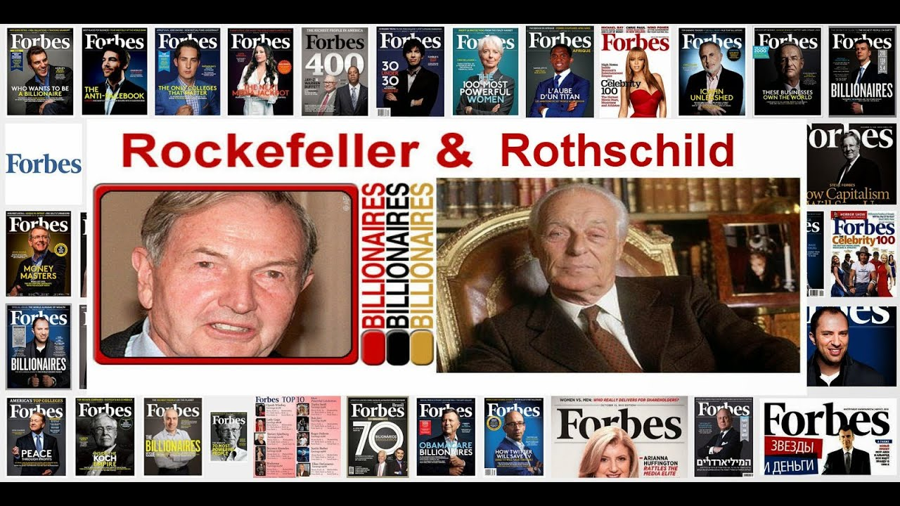 Rothschild Rockefeller Weltherrschaft