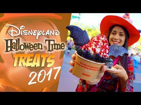 Disneyland's Halloween Time Treats 2017!