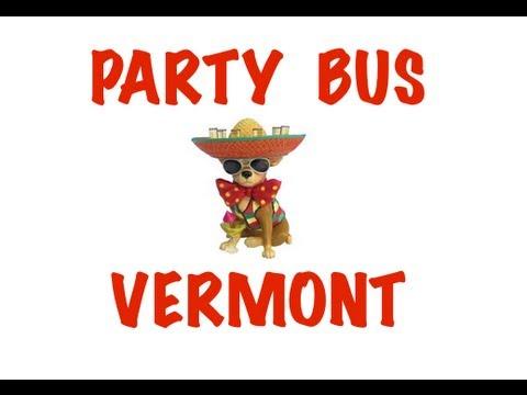 Party Bus Rental in Vermont - Burlington, South Burlington, Colchester, Rutland, Essex Junction