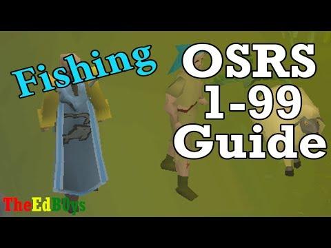 Runescape 2007 1-99 Fishing Guide | OSRS 99 Fish Guide
