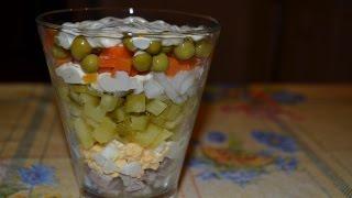 Самый вкусный салат - Оливье / оригинальный способ