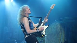 GREAT UNKNOWN  - IRON MAIDEN LIVE KAO 1080P- HD  25-04-2017 - live at König-Pilsener Arena