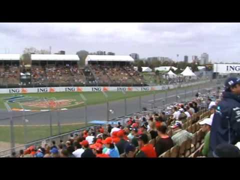 F1 Formula 1 Grand Prix 2009 Melbourne Australia clip 1 of 13