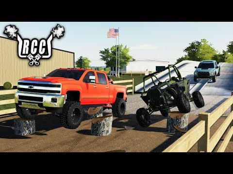 FS19- BUILDING A PRIVATE OFF-ROAD PARK! ROLLIN COAL CUSTOMS thumbnail