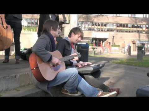 The Leisure Society - Save It For Someone Who Cares - Bandstand Busking Acoustic Session