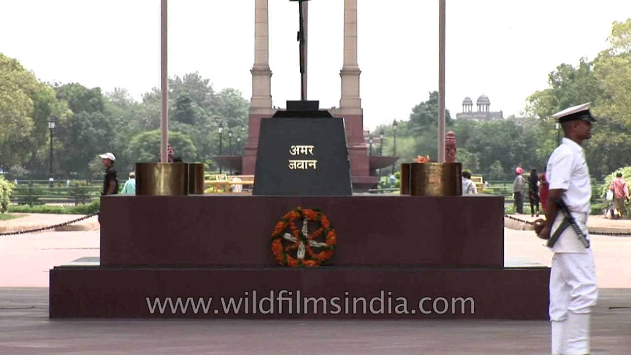 Remembering the martyrs amar jawan jyoti youtube altavistaventures Choice Image