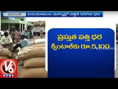Warangal Cotton Farmers Face Problems Due To Irregularities In Minimum Support Price | V6 News