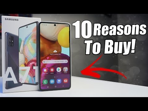10 Reasons to Buy the Samsung Galaxy A71!