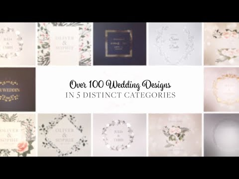 300+ Wedding Animation Elements - After Effects Template thumbnail