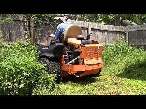 Lawn care vlog #51 Tall thick grass clean up!!