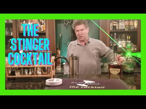 Stinger Cocktail/it's all about the Cocktail/simple drinks shelter at home