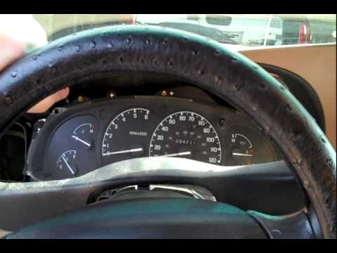96 F150 Engine Diagram Ford Dash Lights Amp Shift Indicator Repair Youtube