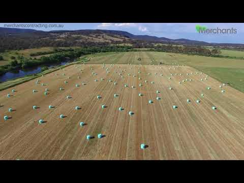 Merchants Contracting Silage Drone Footage