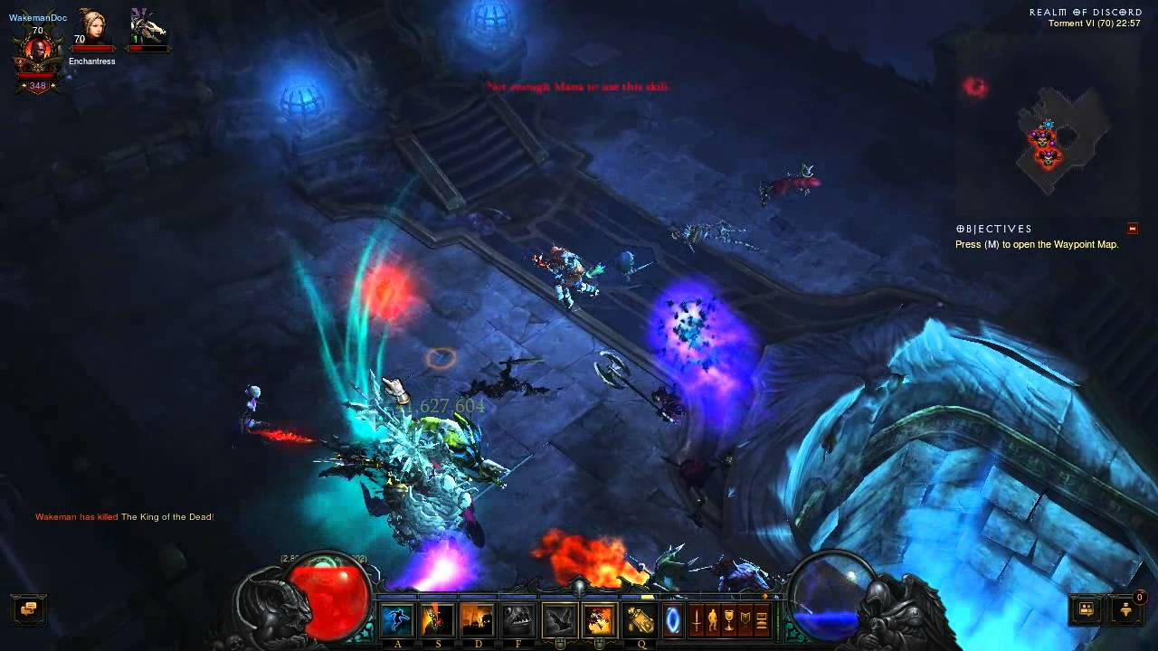 Diablo 3 Ros Uber King Leoric And Maghda Realm Of Discord Youtube
