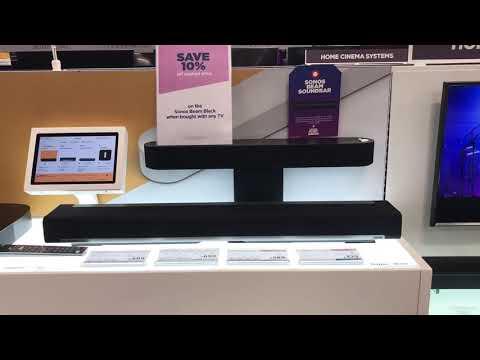 Sonos sound bar comparison! Sound test!