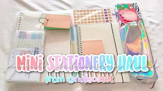 Mini Stationery Haul from Nuliscatet