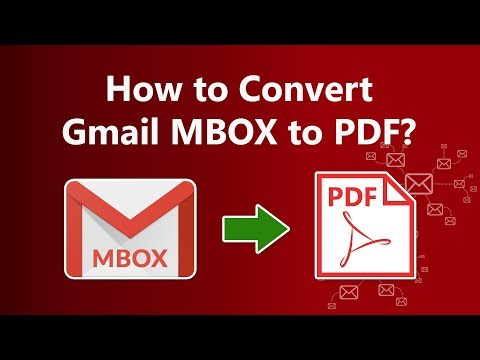 Gmail MBOX to PDF Transfer Using Google Takeout Converter G