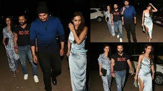 Malaika Arora and Arjun Kapoor on Date With Kareena Kapoor and Saif Ali Khan