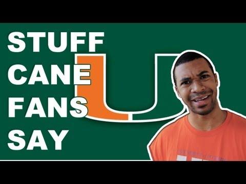 Stuff - Miami Hurricane Fans Say