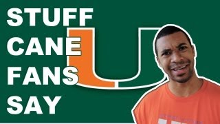 Stuff - Miami Hurricane Fans Say