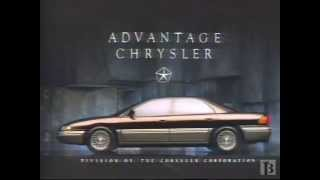 1992 Chrysler Concorde Car Commercial