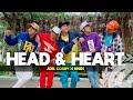 HEAD AND HEART by Joel Corry Zumba Pop TML Crew Charly Esquejo