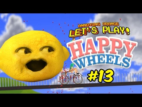 Limbo doesn 39 t scare me let 39 s play annoying orange happy - Let s play happy wheels ...