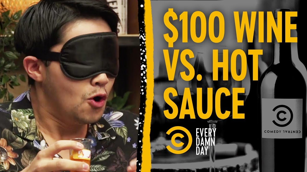 $100 Wine vs. Boxed Wine vs. Hot Sauce