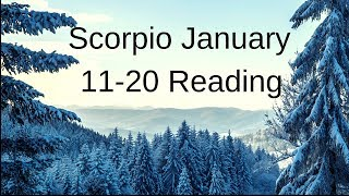Scorpio January 11-20 2019 ~ Divine Gifts Are Coming Your Way ~ Tarot Reading