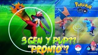 3a GENERACIÓN & COMBATES PvP CONFIRMADOS & MÁS NOTICIAS !! - Pokemon Go