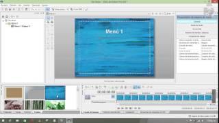 Creación de DVD personalizado Parte1/3 (Interfaz DVD Architect Pro 6)