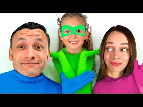 Видео: Невидимка - Детская песня. Песни для детей от Майи и Маши