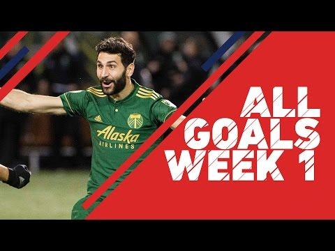 ALL GOALS in MLS | Week 1