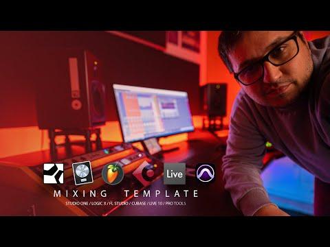 Mixing Template / Waves Vocals Presets / Studio One, Logic X, Cubase, FL Studio, Pro Tools, Live 10