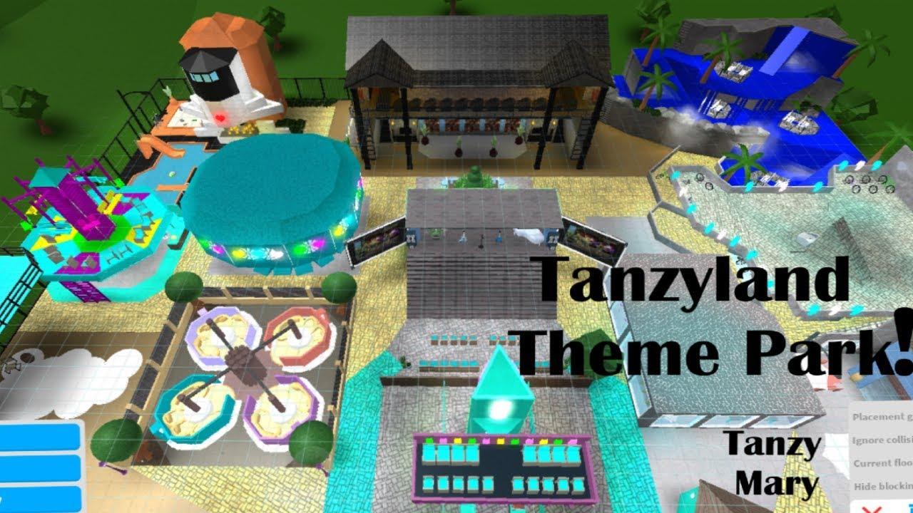 Roblox Bloxburg Crazy Theme Park Adventure Part 1 Youtube