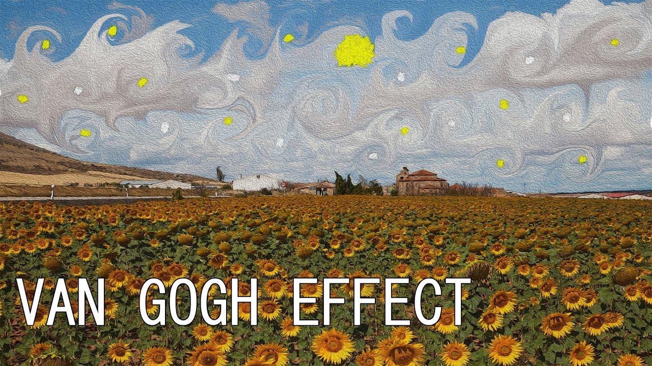 Photoshop Cs6 Van Gogh Effect Youtube
