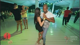 Didier & Anastasia - Social dancing at the 2018 The Third Front Salsa Festival
