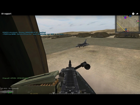 Air support Project Reality 1.4