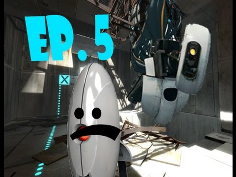 Portal 2 Ep. 5 | Murdering Turrets