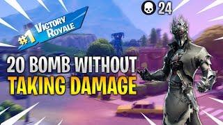 20 BOMB WITHOUT TAKING DAMAGE | 24 KILL ONE SHOT GAME