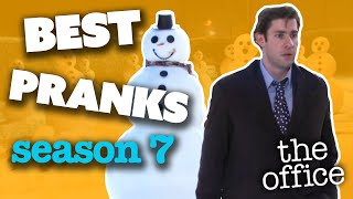 BEST PRANKS (Season 7) - The Office US