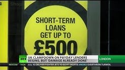 Loaded Loans: UK cracks down on payday lenders, but 'damage already done'